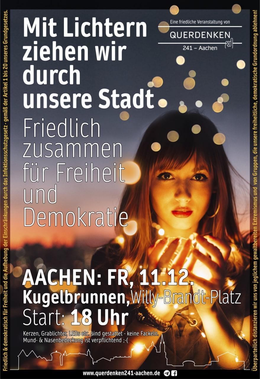 Lichterzug Aachen